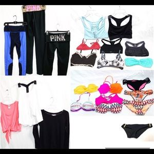 Victoria's Secret Pink Sport XS/S Mixed Lot Of 23